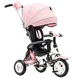 Tricicli per bambini, biciclette, passeggini ( Color : Pink )