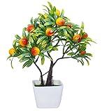#2: TiedRibbons® Artficial bonsai fruit tree plants   artificial plant bonsai   bonsai garden decorations   diwali items for home