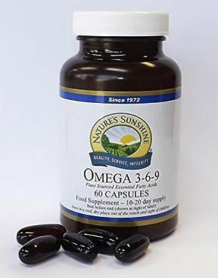 OMEGA 3-6-9 Flax Seed Oil (60)