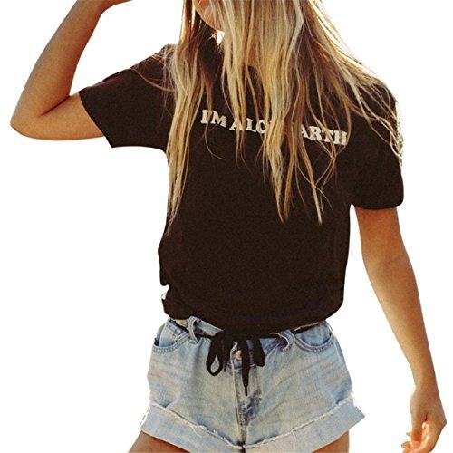 Amanti Moda Lettere Casual Stampati T-Shirt Maniche Corte Top Tee Manica Maglioni Cappotto Abiti Giacca Gonne Primavera Estate In Chiffon Di Cotone Stampa donna