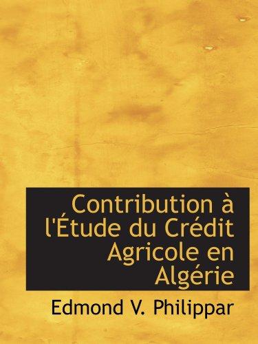 contribution-a-letude-du-credit-agricole-en-algerie