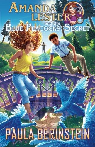 Price comparison product image Amanda Lester and the Blue Peacocks' Secret: Volume 4 (Amanda Lester,  Detective)