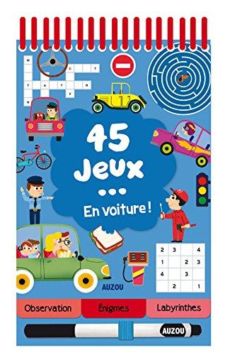 45 JEUX... EN VOITURE ! par Céline Potard