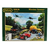 Jumbo Games Falcon de Luxe - Wartime Summer Jigsaw Puzzle (1000 Pieces)