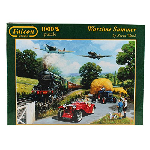 Jumbo 11045 - Falcon - Wartime Summer Puzzle, 1000 Teile