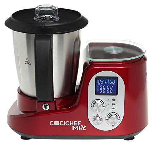 Erika SH-398 Cocichef Mix Burdeos - Robot de cocina