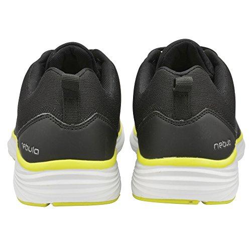 Gola Malim - Chaussures Sport - Homme Noir/Blanc/Volt
