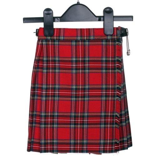 (Mädchen Royal Stewart Tartan Schottisch Kilt für Alter 2-14 Jahre Neu mit Etiketten - Multi, 12 Years)