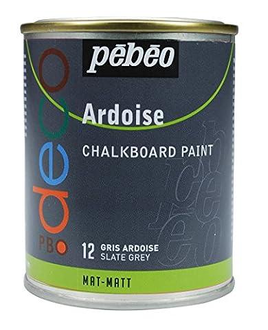 Tableau Ardoise De Cuisine - Pébéo 093512 Déco Acrylique Ardoise 1 Boîte