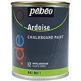 Pébéo 093512 Déco Acrylique Ardoise 1 Boîte Métal Gris Ardoise 250 ml