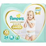 Pampers Premium Care Pants Diapers, XL, 24 Count