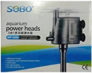 Sobo WP-3990 Multifunction Submersible Pump for Aquarium Fish Tank Power Heads
