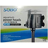 Sobo WP-3990 Multifunction Submersible Pump for Aquarium Fish Tank Power Heads