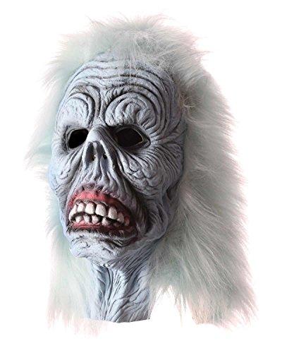 Horrormaske Halloween Maske Deathman Zombi Horror Maske