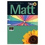 PermaJet 51122 Matt Plus Druckerpapier für Tintenstrahldrucker, 240g/m, A3, 25Blatt