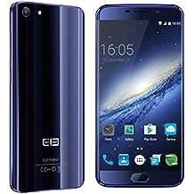 [Elephone Tienda Oficial] Elephone S7 4G LTE Dual SIM Smartphone Android 6.0 Helio X20 Deca-Núcleo 2.0GHz, 4GB RAM, 64GB ROM, FHD Pantalla 13.0MP + 5.0MP Cámaras Huella Digital Azul