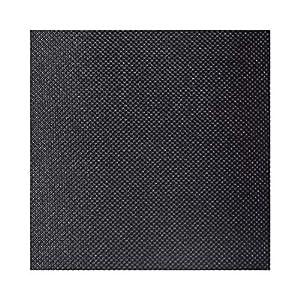 Neoxxim 2,57€/m² Markisenstoff Meterware Wasserdicht Segeltuch 600d Schwarz 50 x 152 cm Aussen Outdoor Stoff PVC Nylon Gewebe Wasserfest Beschichtet reißfest