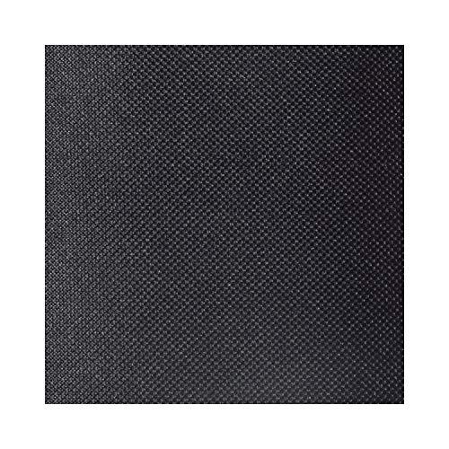 Neoxxim 2,57€/m² - Markisenstoff Meterware Wasserdicht Segeltuch 600d Schwarz 500 x 152 cm Aussen Outdoor Stoff PVC Nylon Gewebe Wasserfest Beschichtet reißfest -