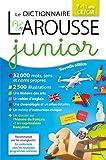 Larousse dictionnaire Junior 7/11 ans - Larousse - 08/06/2016