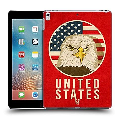 Head Case Designs États-Unis Animaux Patriotiques Étui Coque D'Arrière Rigide Pour Apple iPad Pro 2 10.5 (2017)