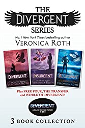Divergent Series (Books 1-3) Plus Free Four, The Transfer and World of Divergent (Divergent)
