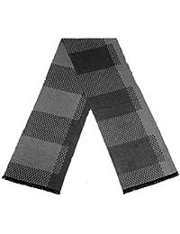 rechteckiger eleganter Schal mit Karomuster für Männer