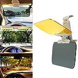 Auto Sonnenschutz, Sayou® 2 in 1 Blendschutz Auto Sonnenblende / Tag Und Nacht Fahren Sonnenblende