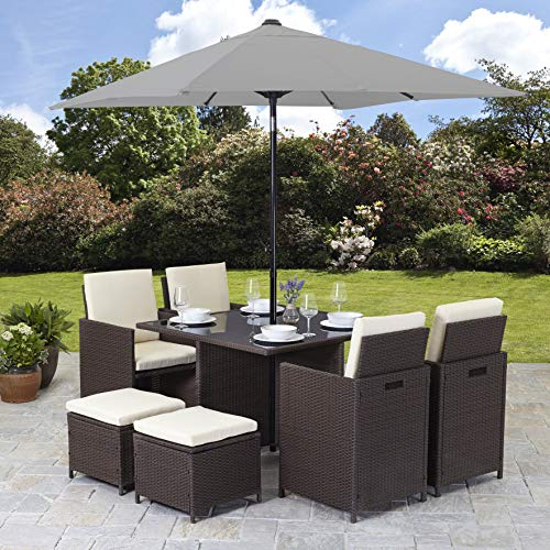 Outdoor Relaxen Rattan Lounge Betten | Garden Rattan The Best Amazon Price In Savemoney Es