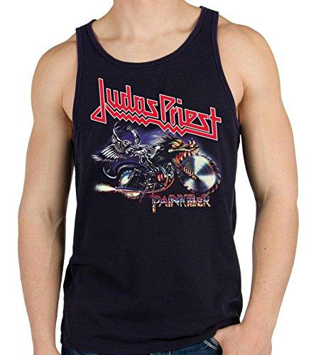 35mm - Camiseta Hombre Tirantes - Judas Priest - Painkiller - Men'S Tank Top, NEGRA, M