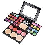 LecimoBerufsverfassungs-multi Farben-Augenschminke Erröten Pulver-Paletten-Lipgloss-Kosmetik-Satz