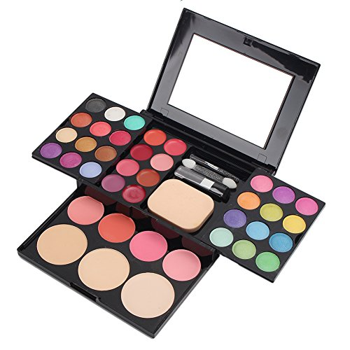 Merssavo 39 couleurs Kit de maquillage pour les lèvres