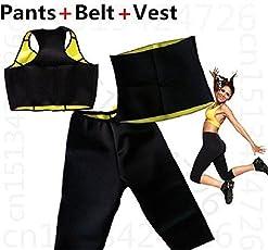 Clyra Hot Shapers Women sweat Slimming Body Shaper Loss-weight Combo