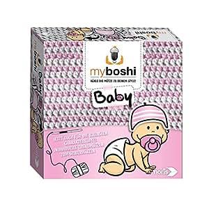 Noris Spiele606311256 - Myboshi Baby, Häkel-Set - Hamamatsu/Iwaki