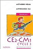 Image de Méthodes pour apprendre en français en CE2-CM1, cycle 3