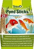 TETRA Pond Sticks - Aliment Complet en sticks pour Poisson de Bassin - 25L