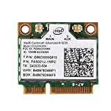 Richer-R Wifi Karte, 2,4 GHz + 5 GHz Dualband PCI-E Wireless Bluetooth 4.0 WLAN Karte,802.11A / B/G / N Mini PCI-e WLAN-Karte für die Meisten Desktop Notebook PC usw.