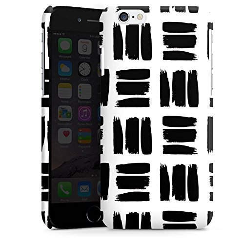 Apple iPhone 5s Housse Outdoor Étui militaire Coque Noir et blanc Motif Motif Cas Premium brillant