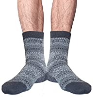 unisex seamless toe angora wool winter socks uk size 6-8