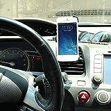SAVFY� Dedicated Air Vent Car Holder Mount Black Vehicle Louvers Phone Cradle Mount For Apple Iphone5S Iphone5 (Iphone5S/5-Air Vent Holder)