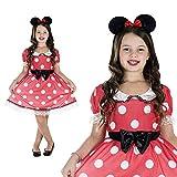 Mausedame Tierkostüm Größe L Kinder 10 bis 12 Jahre Maus Kostüm 50123