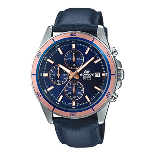 Casio Edifice Chronograph Blue Dial Men's Watch