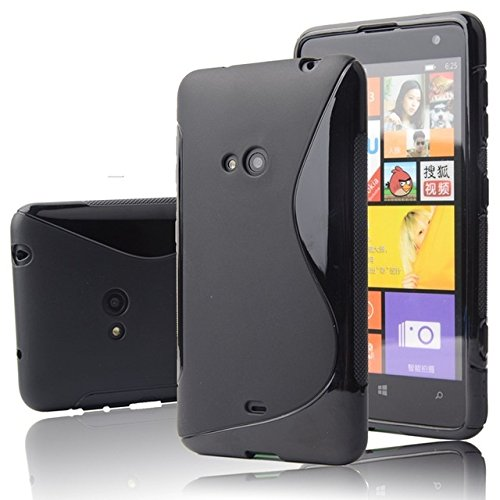 Nokia lumia 625 Magic Brand S-Line Black Soft Silicon Back Cover Case  available at amazon for Rs.249