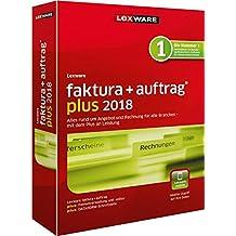 Lexware faktura+auftrag 2018 plus-Version Minibox (Jahreslizenz) / Einfache Auftrags- & Rechnungs-Software für alle Branchen / Kompatibel mit Windows 7 oder aktueller