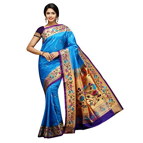 Niveditha Textile Paithani kadiyal sridevi Embroidery Sarees
