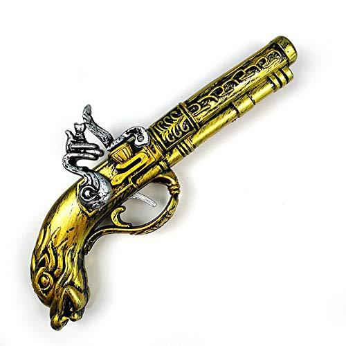 (Newin Star 1 Stück Spielzeugpistole Pirate Gun Halloween Dekoration Leistung Requisiten)