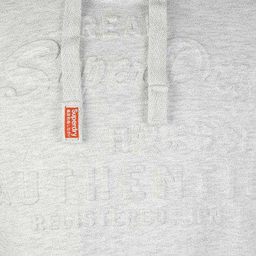 Superdry Felpa Vintage Logo Authentic Emboss  Grau