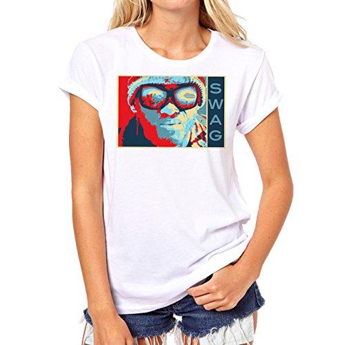SWAG Hancock Deep Damen T-Shirt Weiß