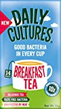 Daily Cultures Breakfast Tea ( 4 boxes) 56 Tea Sachets