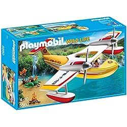 Playmobil - Hidroavión de extinción de incendios (55600)
