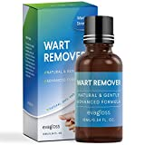 Natural Wart Remover, Maximum Strength, Painlessly Removes Plantar, Common, Genital Warts Infections, Advanced